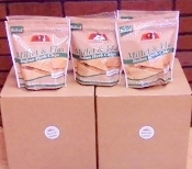Sami's Bakery Mixed Case Millet & Flax Chips - 12 Bags