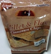 Sami's Bakery Low Carb Millet & Flax Cinnamon Chips