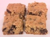 Chocolate Chip Cookie Bars - Sugar Free & Low Carb