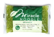Miracle Shirataki Noodles Spinach Angel Hair - Zero Carbs