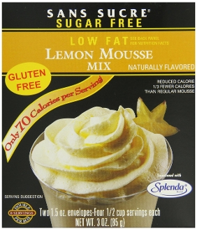 Sans Sucre Lemon Mousse Mix