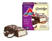 Atkins Endulge Low Carb Chocolate Coconut Bars - 5 Pack