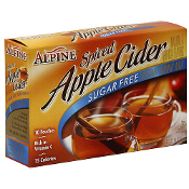 Alpine Spiced Sugar Free Apple Cider Instant Drink Mix - 10 Ct