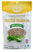 Eda Zen toasta ma-me Toasted Edamame - Onion and Chive
