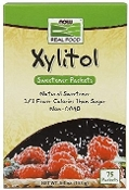 Now Real Foods Xylitol Packets - 75 Count