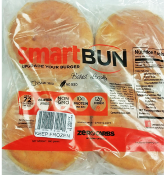Smart Bun Zero Carb, Gluten Free Plain Hamburger Buns