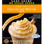 Sans Sucre Low Fat Cheesecake Mousse Mix