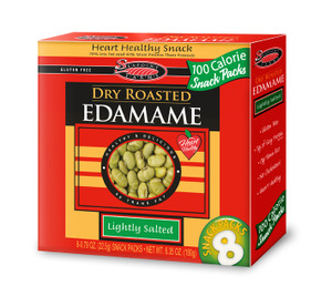 Edamame by Seapoint Farms - 8 Dry Roasted 100 Calorie Packs