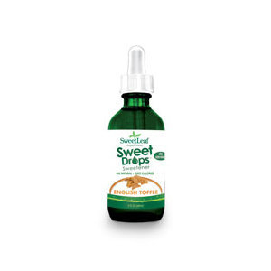 SweetLeaf Liquid Stevia Sweet Drops - English Toffee