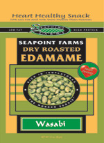 Edamame by Seapoint Farms - Wasabi 4 oz pack