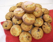 Banana Chocolate Chip Low Carb Muffins - 2 Pack