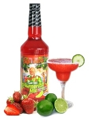 Baja Bob's Strawberry Margarita Mix - 32oz