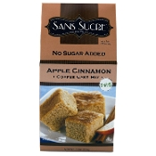 Sans Sucre Apple Cinnamon Coffee Cake Mix