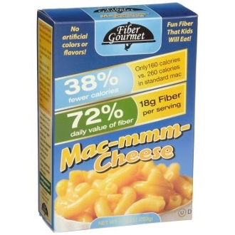 Fiber Gourmet LITE Mac & Cheese Pasta with Cheese Packet