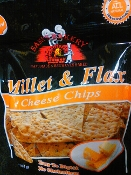 Sami's Bakery Cheese Millet & Flax High Fiber Chips
