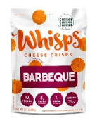 Whisps BBQ Cheese Crisps Crackers - 2 Net Carbs