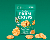 Parm Crisps Sour Cream & Onion Crackers - 2 Net Carbs