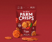Parm Crisps Pizza Flavored Crackers - 1 Net Carb