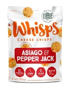 Whisps Asiago & Pepper Jack Cheese Crisp Crackers
