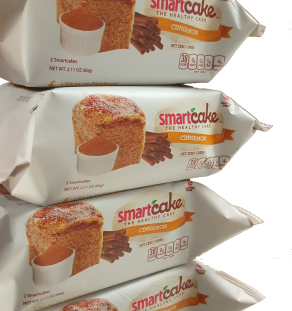 Smart Cakes - Zero Net Carb Cinnamon 2 pack