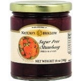 Nature's Hollow Sugar Free Strawberry Preserves with Xylitol