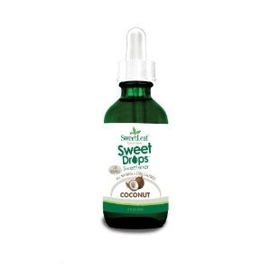 SweetLeaf Liquid Stevia Sweet Drops Sweetener - Coconut