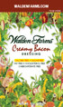 Walden Farms Creamy Bacon Dressing Packets - 6 ct Box